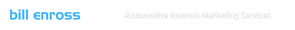 Automotive Internet Marketing Services | Bill Enross